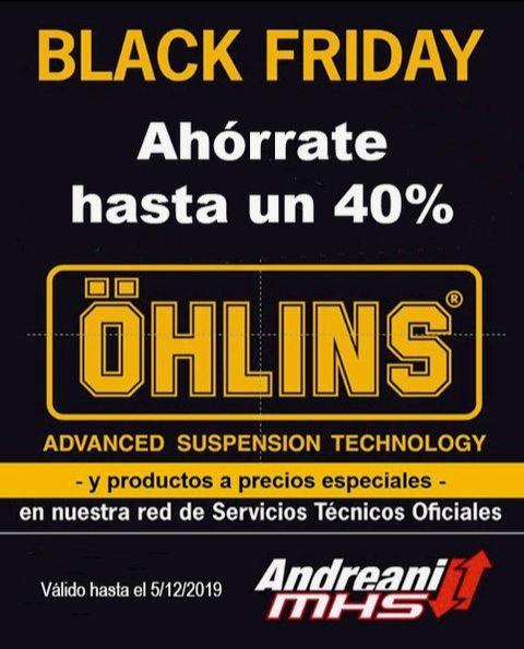 Black Friday - Suspensiones Ohlins